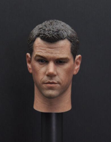 Custom 1//6 SCALA Matt Damon TESTA SCOLPIRE per il corpo figura Hot Toys