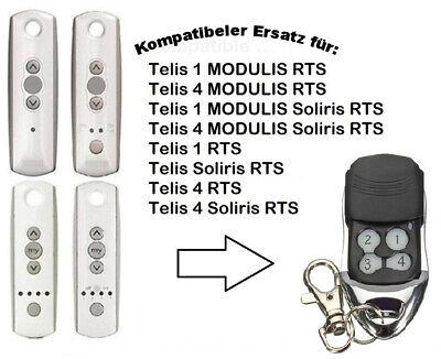 Ersatz Handsender kompatibel für SOMFY Telis 1 RTS und SOMFY Telis Soliris RTS