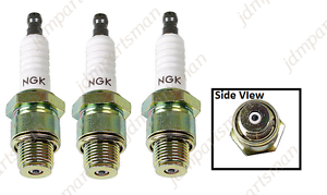 6431 3x NGK BU8H Non-Resistor Spark Plug Pre-Gapped fits Mercury /& Mariner