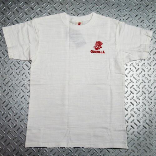 Godzilla T-shirt Sakura Ukiyoe Japanese Traditional Print Wagara Japan White