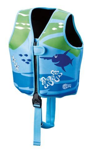 blau//grün 09639-008 SEALIFE Schwimmweste