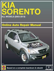2011 kia sorento haynes online repair manual select access ebay rh ebay com 2011 kia sorento manual pdf 2012 kia sorento manual