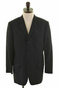 3 Button Blazer Uomo Taglia Ted Wool Medium Black Dr15 38 Giacca Baker wqXxtOt