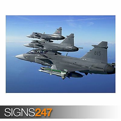 A0 A1 A2 A3 A4 Sizes Fighter Jet Giant Poster