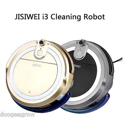 JISIWEI i3 Robot Aspirador Vacío Limpiador Limpieza+Cámara APP para Smartphone