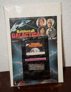 1978 BATTLESTAR GALACTICA TV SCIENCE FICTION CULT CLASSIC I.D. WALLET SET MOC