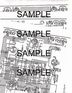 1958 CHEVROLET TRUCKS 6 CYLINDER 58 WIRING GUIDE DIAGRAM ...