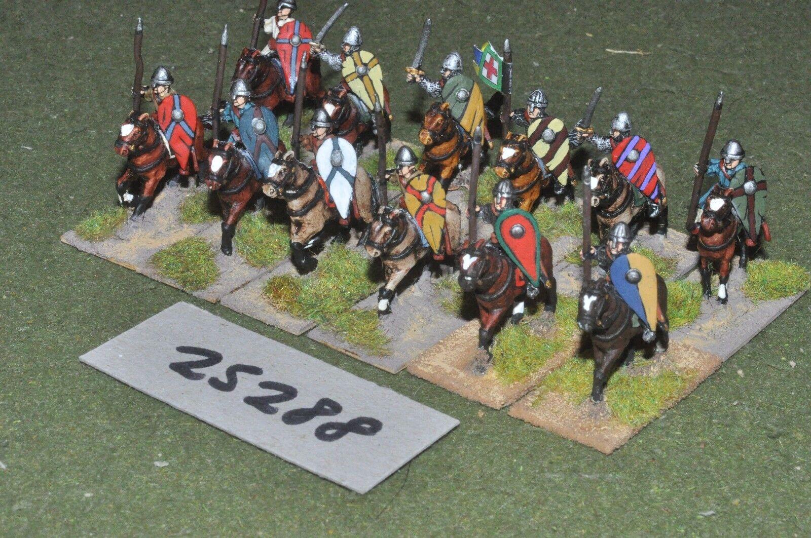 20mm medieval   crusader - knights 12 figures - cav (25288)