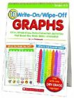 10 Write-on Wipe-off Graphs by Liza Charlesworth Spiral Ringed Book