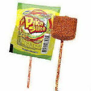 Image Is Loading Pika Slice Sandia Chilli Watermelon Flavor Lollipops Mexican