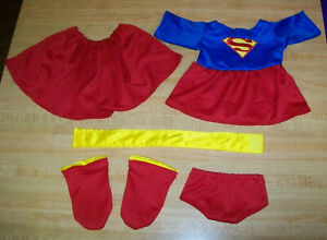 "7 PC SUPERMAN COSTUME CLARK KENT  FOR 16-18/"" CPK Cabbage Patch Kids or similar"