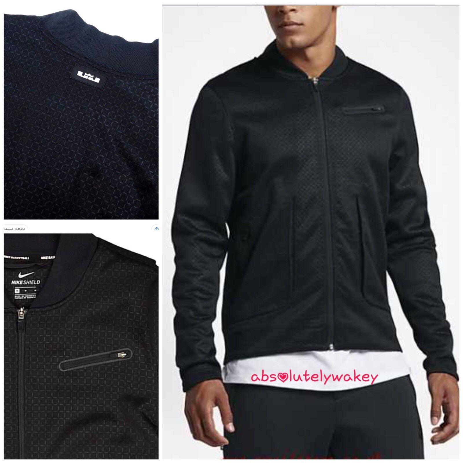 70f084b5872e Nike James Giacca Nero da Uomo Scudo Lebron noavpo6296-Abbigliamento per lo  sport