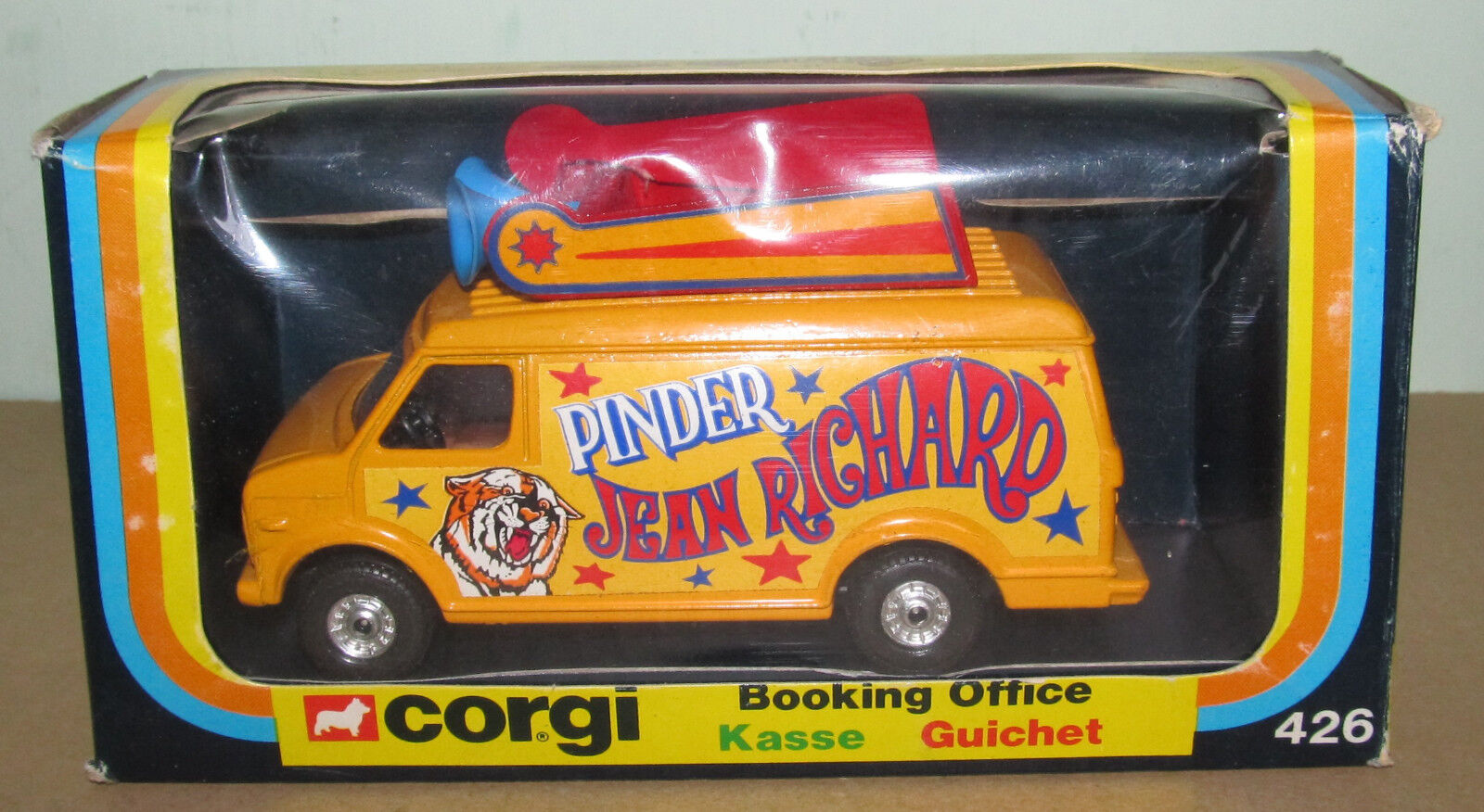 B B B Corgi Toys 426 Jean Richard Circo reserva Oficina van  genuina alta calidad