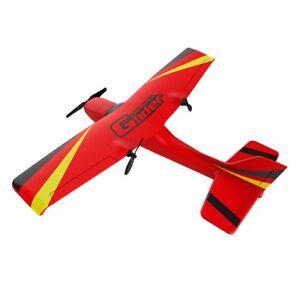 Rosso 2.4G RC Plane Airplane Radio Telecomando Aereo Aliante in schiuma modello Toys