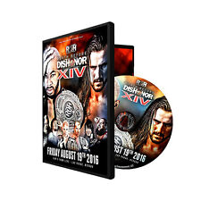 Official ROH Ring of Honor Death Before Dishonor 14 (XIV) 2016 Event DVD