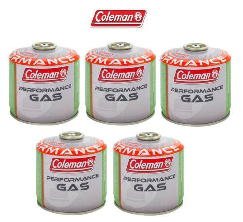 BOMBOLETTA CARTUCCIA GAS COLEMAN c300 performance FILETTO 240 g GAS 5 PEZZI *