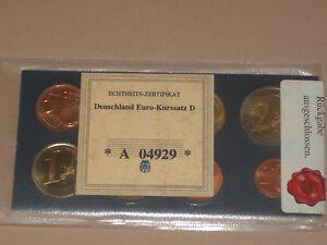 kit-euros-Allemand-annee-2002-D-neuf-sous-pochette-avec-certificat