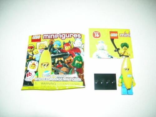 In Hand New Lego 71013 Series 16 Banana Suit Guy Minifigure