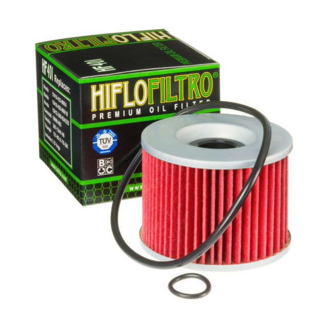 Hiflo HF401 Motorcycle Replacement Premium Oil Filter