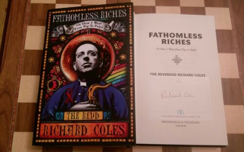 1 of 1 - Fathomless Riches SIGNED Richard Coles Autobiography HB 1st edition 3rd printing
