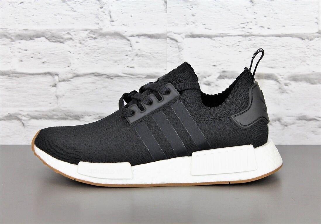 novedad  adidas nmd r1 PK by1887 negro zapatos caballero zapatillas de deporte cortos sportschue