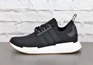 NUOVO ADIDAS NMD PK r1 by1887 Nero Uomo Scarpe Sneaker Scarpe da ginnastica sportschue