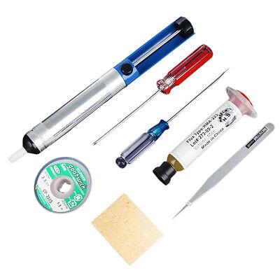 7 in 1 Welding Solder Soldering Iron Kit Electronic Tool Tools Set solder wick