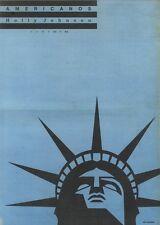 25/3/89Pgn60 Advert: 'americanos' Holly Johnson Single On Mca Records 15x11