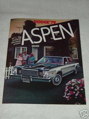 1982 Dodge 400 Car Automobile Brochure MINT