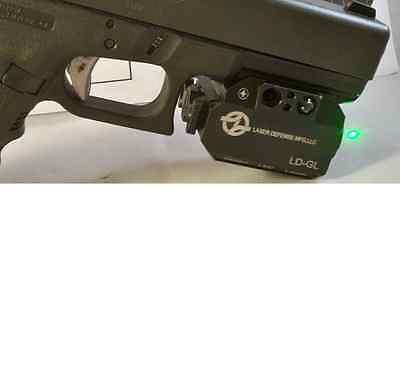 LDM LD-GL Green Laser 100yds Daylight 250 Lumen Strobe Light Flashlight Pistol