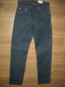 VTG-80S-NEW-NWT-NOS-MENS-LEVIS-505-29-X-33-DARK-DENIM-JEANS