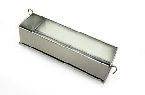 Gobel Pate Terrine Mold With Hinges Tinned Steel 3 Quot Wide