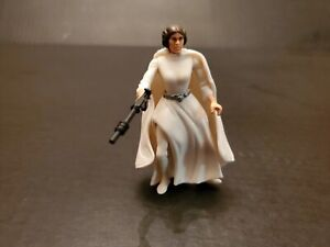 Star Wars Princess Leia Organa Action Figure With Blaster 1995 Kenner Loose