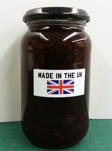 40 Made In The UK 30 x 50 mm Labels IT Crowd 097