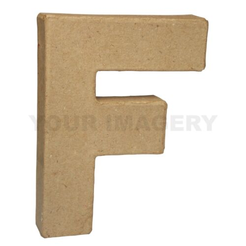 10cm Small Papier Mache Letters with Free P/&P for Decoupage and Decopatch