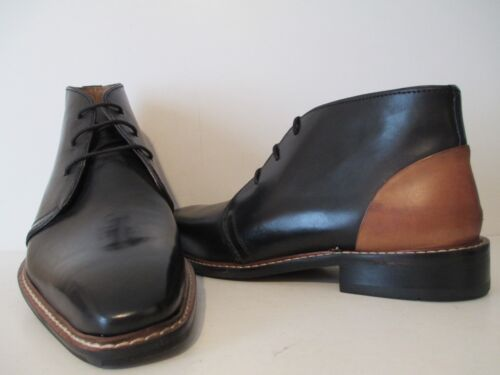 M Black Dress Thornton 24927 Leather 726821043377 Giorgio Brutini 7 Size Ankle Boot Mens Tan SqY7g7