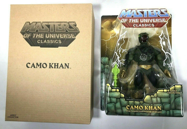 Meesters van het Universum Classics Camo Khan 2016 Power Con Exclusieve MIB MOUC