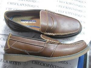 New Nunn Bush North Point Premim Loafer Slip On Leather