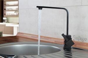 Nero design cucina miscelatore rubinetti sanlingo ebay - Rubinetti design cucina ...