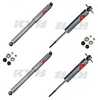 Gmc Savana 3500 1998-2001 Front Left And Right Suspension Kit Shocks Kyb Gas