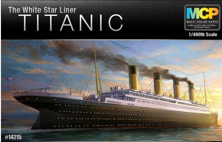 1 400 Scale Academy R.M.S The vit Star Liner TITANIC Multi Färg Pkonst M