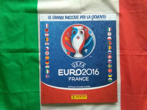 Album Euro 2016 copertina cartonata rigida panini vuoto Italiano