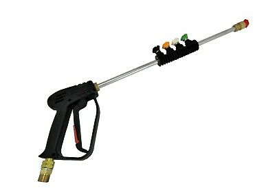 YAMATIC High Pressure Washer Spray Gun,50 FT Hose,Wand,Lance/&5pack Nozzles Kit