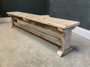 Groovy Details About 9Ft Bench Reclaimed I Frame Vintage Dining Kitchen Bench Onthecornerstone Fun Painted Chair Ideas Images Onthecornerstoneorg