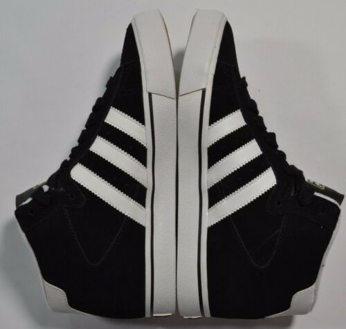 192 Adidas CAMPUS VULC MID SB Black White Met Gold Discounted Men/'s Shoes