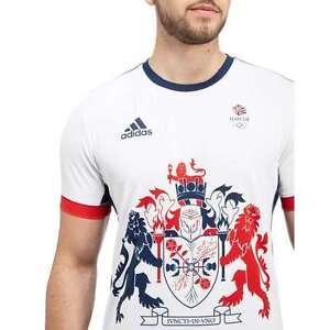 Official Adidas Jeux Olympiques RIO 2016 Team GB Tennis Climachill Tee-shirt Homme-afficher le titre d`origine Zvn3Rxdr-07164903-997788889