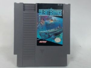 SILENT-SERVICE-NES-Nintendo-Good
