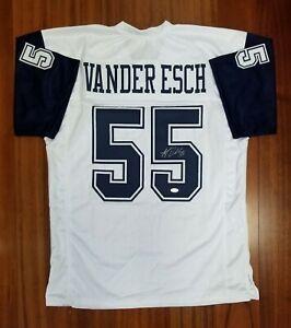 outlet store cd817 963d8 Details about Leighton Vander Esch Autographed Signed Jersey Dallas Cowboys  JSA