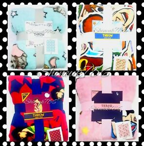 NEW-Primark-TV-Character-Disney-Official-Throw-soft-fleece-cosy-winter-blankets