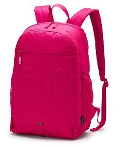 5c89a83843da8 Das Bild wird geladen PUMA-Buzz-Backpack-Rucksack -Sportrucksack-Tasche-Beetroot-Purple-